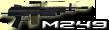 M249 PARA Light Machine Gun