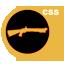 Gold M3 Shotgun