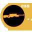 Gold AWP Sniper